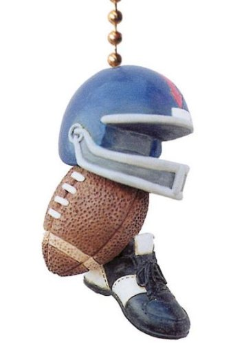 Football Fan Pull Home DECOR Ceiling Fan Ball Helmet NU at Amazon.com