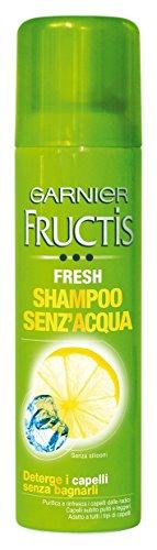 Garnier Fructis Fresh Shampoo Senz'Acqua Deterge i Capelli senza Bagnarli, 150 ml