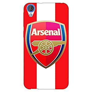 Jugaaduu Arsenal Back Cover Case For HTC Desire 820Q