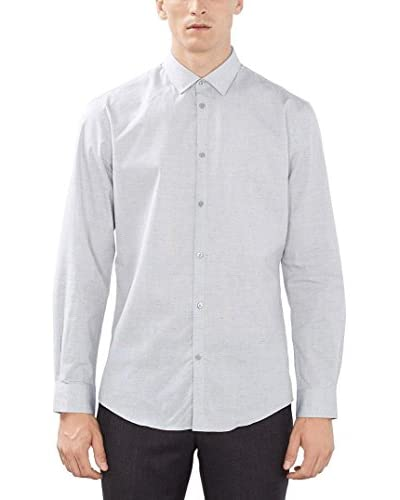 ESPRIT Collection Camisa Hombre Gris