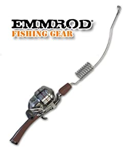 Emmrod 8 Coil Casting Rod Packer Combo MAROON Handle Compact