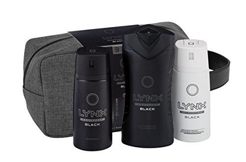 lynx-black-washbag-mens-gift-set