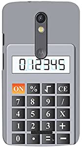 Kasemantra Calculate In Style Case For Motorola Moto X Force