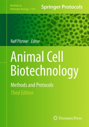 Animal Cell Biotechnology: Methods and Protocols (Methods in Molecular Biology)