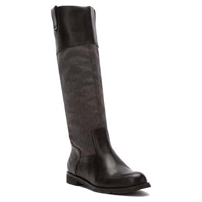 Otbt Women Petaluma Boots,Black Pewter,6