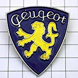 限定 レア ピンバッジ プジョー車ライオンのエンブレム紋章 ピンズ フランス