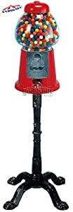 Carousel King Gumball Machine with Stand