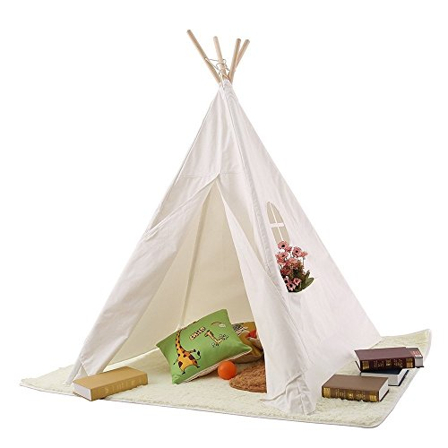pericrossr-children-teepee-kids-play-tent-145cm-indian-tent-for-kid-indoor-play-ground-play-house-te