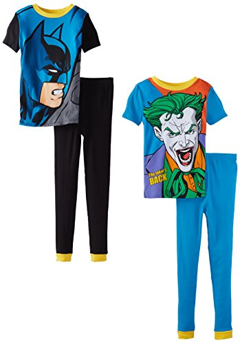 Komar Kids Little Boys' Batman 4 Piece Pajama Set at Gotham City Store