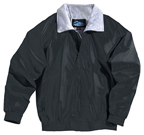Clipper Jacket With Jersey Lining, Color: Black, Size: Xxx-Large front-683064