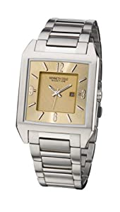 Kenneth Cole Men's KC3743 Reaction Gold-Tone Bracelet Watch