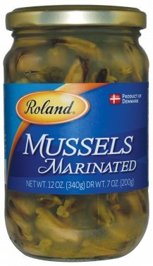 Roland: Marinated Mussels 12 Oz (6 Pack)