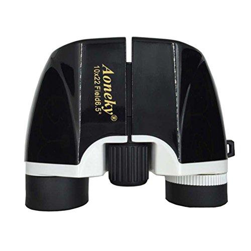 (アワンキー) Aoneky 10x22 双眼鏡 ポータブル式望遠鏡 小型軽量 子供に対応 光学機器 自然観察 プレゼント