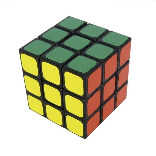 Maru Educational Products - Maru 3x3 Tiny 3cm Speed Cube Black - Maru's Tiny 3cm Speed Cube by Avner-Toys - 1