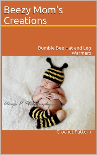 Bumble Bee Hat and Leg Warmers (Crochet Pattern)