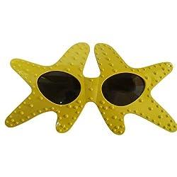 Funcart Yellow Starfish sunglasses