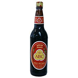 ABC Kecap Manis Sweet Soy Sauce - 21 oz bottle x 2