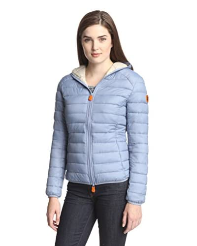 Save the Duck Women's Hooded Puffer Jacket