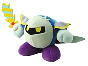 "Kirby Adventure Kirby Plush Doll: 6"" - Meta Knight"