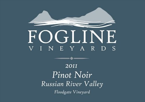 2011 Fogline Russian River Valley Pinot Noir - Floodgate Vineyard 750 Ml