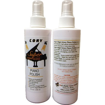 Review Cory Super High Gloss Piano Polish 8oz Bottle