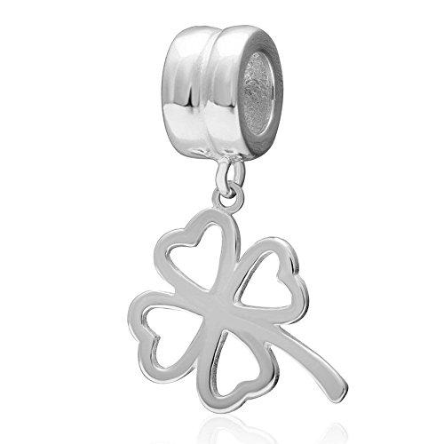 soulbead-soulbead-lucky-4-leaf-clover-plata-de-ley-925-dangling-bead-colgante-para-pulsera-de-estilo