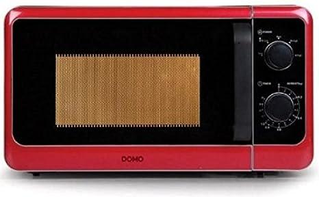 Micro-ondes dans un design moderne et élégant avec capacité 20 l-violet décongélation & glasdrehteller puissance - :  800 w-couleur :  rouge & neuf sous emballage original