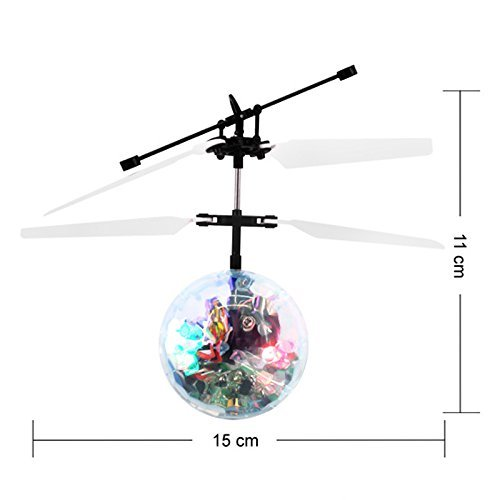 Mannat Collections Royal's Flying Disco Ball RC Infrared Flyer Helicopter by Mannat Collections