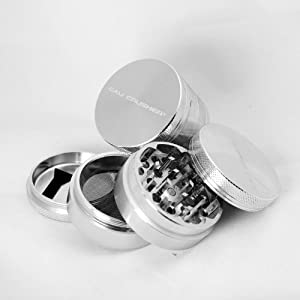 Authentic Cali Crusher Ultra Premium Herb Grinder 4 Piece Small (cc-6-s) by Cali Crusher�
