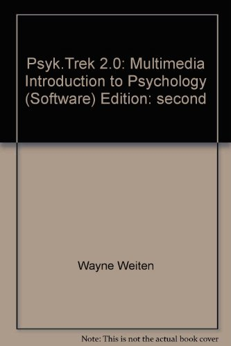 PsykTrek: A Multimedia Introduction to Psychology, Version 2.0
