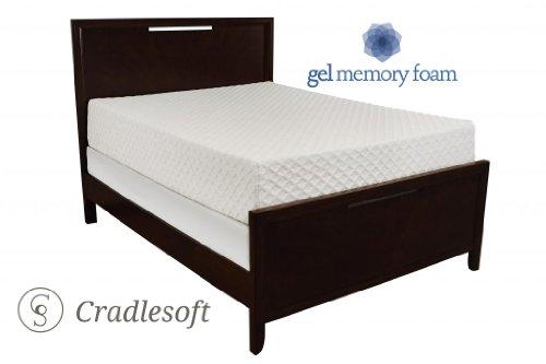 Cradlesoft¨, 12-Inch Gel Memory Foam Mattress, Cal. King