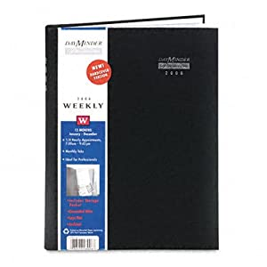 At-A-Glance Première Professional Weekly Appointment Book, Hardcover, 8 x 11, Black (AAGG520H00) Category: Weekly Appointment Books and Planners