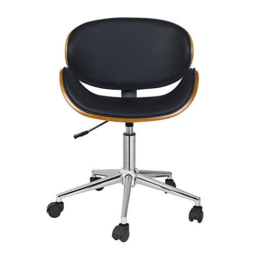 Antique Revival Rylan Office Chair, Black 1