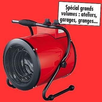 canon a chaleur souflleur 3000w pour entrepot garage ou atelier luminaires et eclairage. Black Bedroom Furniture Sets. Home Design Ideas