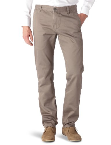 Dockers Alpha Khaki Chinos - Dark Pebble