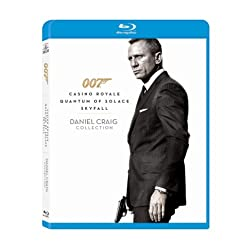 Daniel Craig 007 Collection [Blu-ray]
