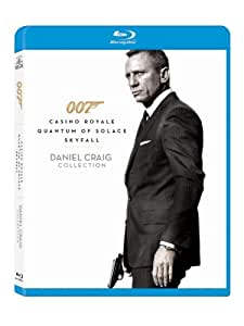 007: Daniel Craig Collection (Casino Royale / Quantum of Solace / Skyfall) [Blu-ray]