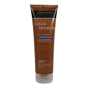 John Freida Brilliant Brunette Moisture Shampoo 8.45 oz.