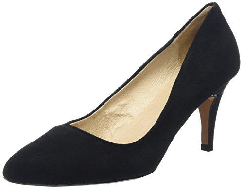 LotusDrama - Scarpe con Tacco donna , Nero (Black (Black Suede Blk Sde)), 38.5