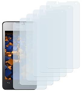 6x mumbi Displayschutzfolie Huawei Ascend Y300 Schutzfolie