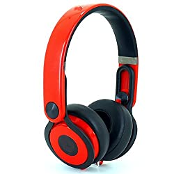 Fadedge Mixxer Wired Headphones (Red)