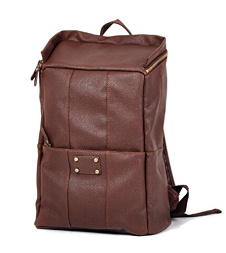 Beier® Retro Soft Leather Backpack Men Casual Backpack Fba2014-17