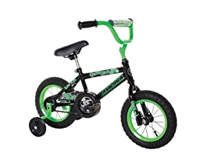 Dynacraft Magna Gravel Blaster Boy's Bike (12-Inch, Green/Black) by Dynacraft