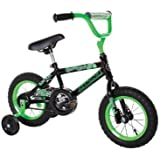 Dynacraft Magna Gravel Blaster Boy's Bike (12-Inch, Green/Black)