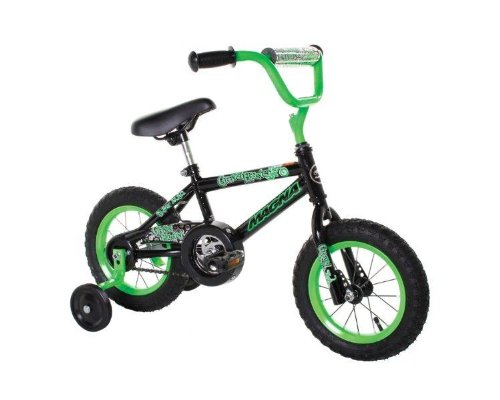 Dynacraft-Magna-Gravel-Blaster-Boys-Bike-12-Inch-GreenBlack