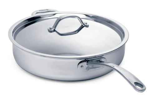 Cuisinox Elite 5.6 Quart Covered Saute Pan