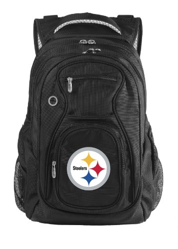 NFL Pittsburgh Steelers Denco Travel Backpack, Black at Amazon.com