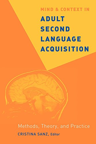 Mind and Context in Adult Second Language Acquisition: Methods, Theory, and Practice