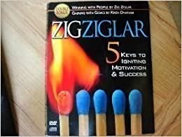 5 Keys to Ignite Motication & Success CD/DVD set Zig Ziglar CD/DVD set