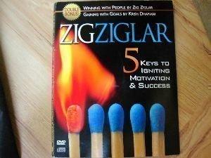 5 Keys to Igniting Motivation & Success Cd/Dvd Set! Zig Ziglar